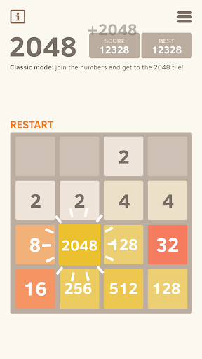 2048 Number puzzle game screenshot 10