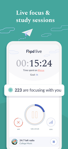 Flipd Focus & Study Timer screenshot 1