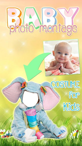 Cute Baby Photo Montage App 👶 Costume for Kids screenshot 1