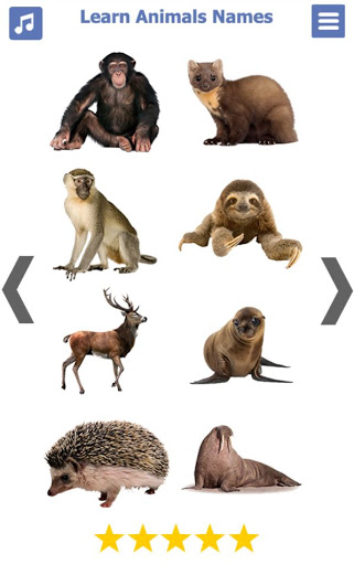 Learn Animals Name Animal Sounds Animals Pictures tangkapan layar 8