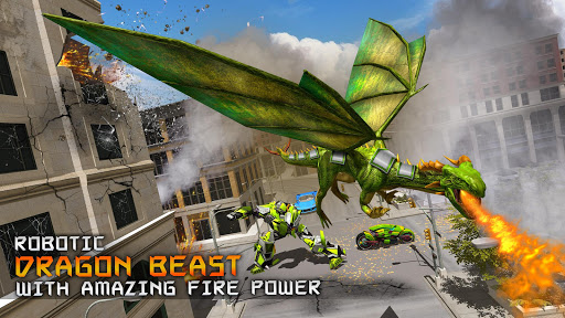 Deadly Flying Dragon Attack 屏幕截图 11
