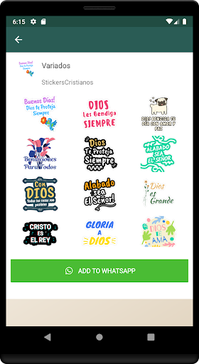 Stickers Cristianos screenshot 6