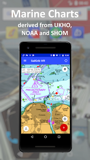 SailGrib Weather Routing Free screenshot 3