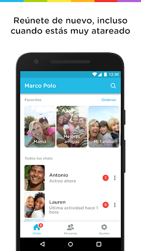 Marco Polo - Video Chat for Busy People captura de pantalla 1