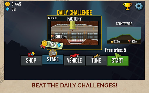 Hill Climb Racing screenshot 10