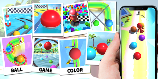 Dig Sand Ball Color - Escape Ball Game Run Hole 3D screenshot 7