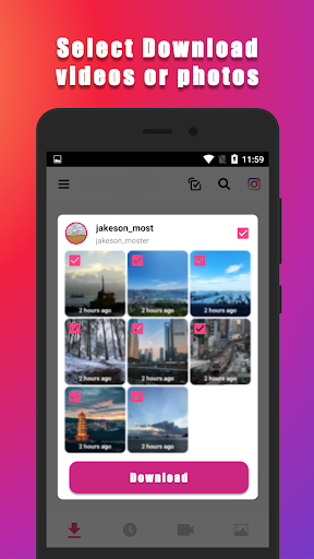 Video Downloader for Instagram (Super Fast) screenshot 1