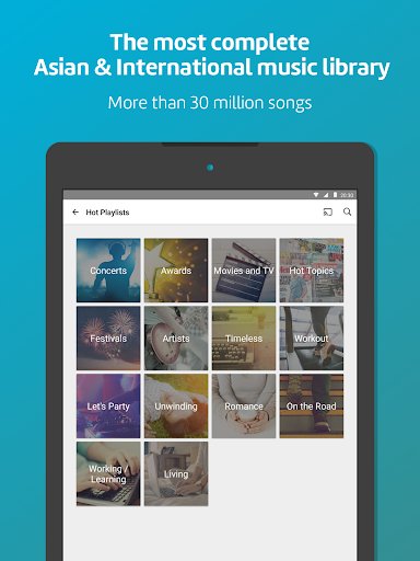 KKBOX - Music and podcasts, anytime, anywhere! screenshot 8