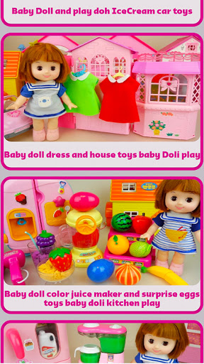 Baby Doll and Toys Video screenshot 12