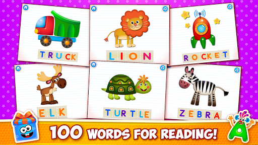 Baby ABC in box Kids alphabet games for toddlers screenshot 20