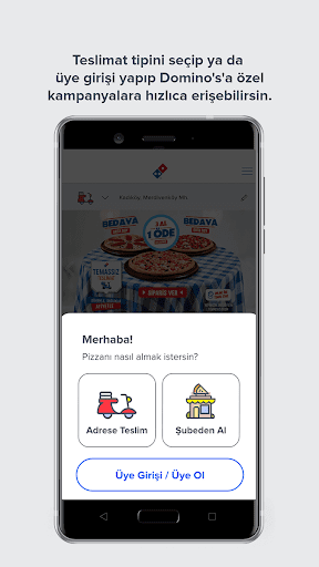 Domino's Pizza Türkiye screenshot 2