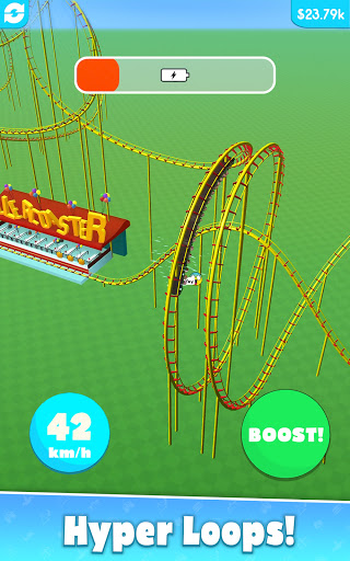 Hyper Roller Coaster screenshot 9