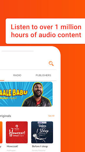 Hubhopper: Podcasts and Stories That Speak to You screenshot 3
