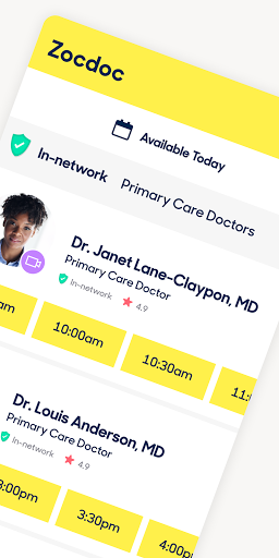 Zocdoc Find A Doctor & Book On Demand Appointments screenshot 2