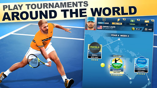 TOP SEED Tennis screenshot 1
