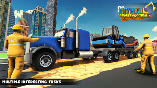 Mega City Road Construction Machine Operator Game screenshot 11