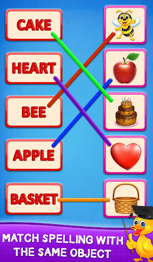 Matching Spelling And Object screenshot 6