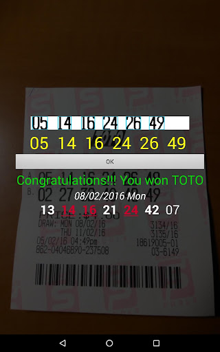 SG TOTO 4D SWEEP screenshot 2