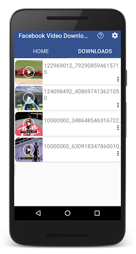FVD Video Downloader For Facebook! FBDownloader screenshot 6