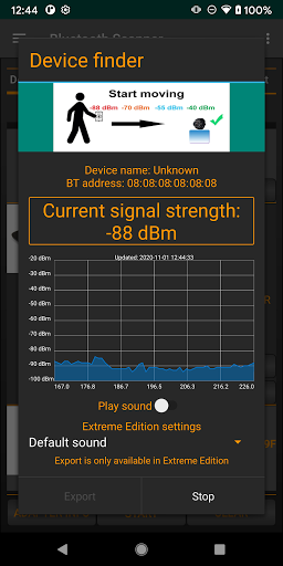 Bluetooth Scanner screenshot 2