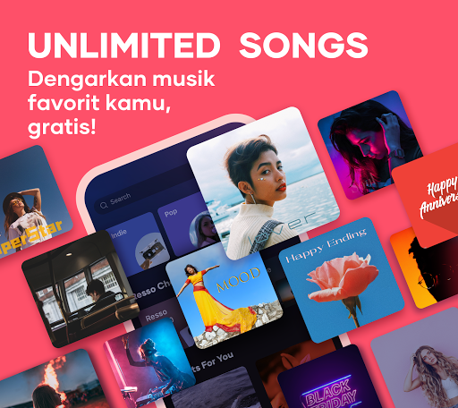 Resso Music - Listen to your favorite song & radio tangkapan layar 1