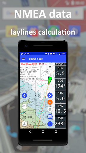 SailGrib Weather Routing Free screenshot 7