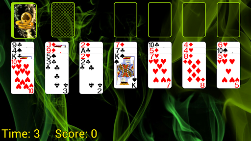 Spider Solitaire (Web rules) screenshot 1