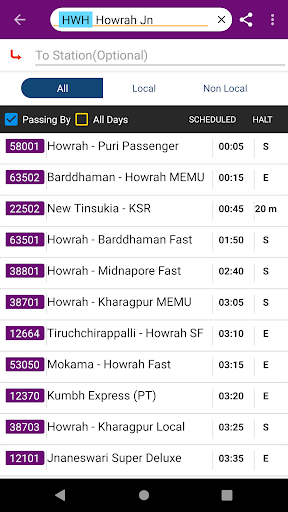 Kolkata Suburban Trains screenshot 7