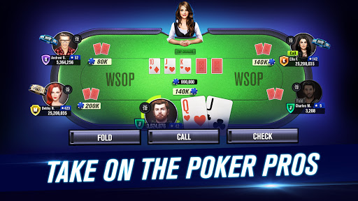 World Series of Poker WSOP Free Texas Holdem Poker screenshot 1