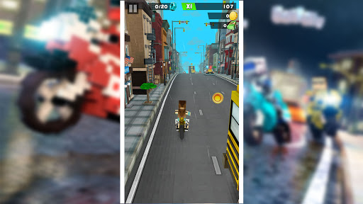 Blocky Superbikes Race Game - Motorcycle Challenge 屏幕截图 15