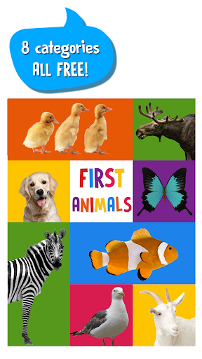 First Words for Baby: Animals screenshot 1