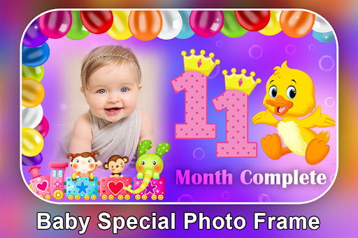 Baby Month Complete Photo Frame screenshot 10