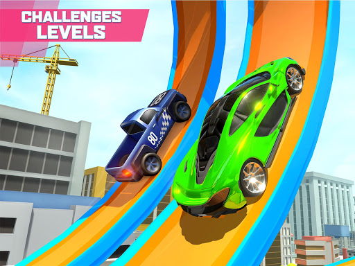 Mega Ramp Car Stunts screenshot 8