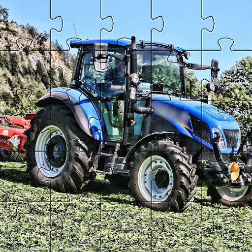 Jigsaw Puzzles Tractor New Holland Games Free 🧩🚜 screenshot 6