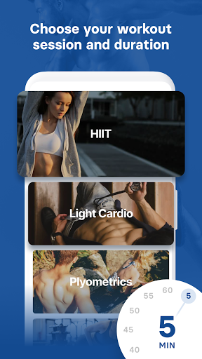 HIIT & Cardio Workout by Fitify screenshot 2