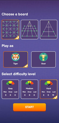 Goats and Tigers | BaghChal Online Game screenshot 2