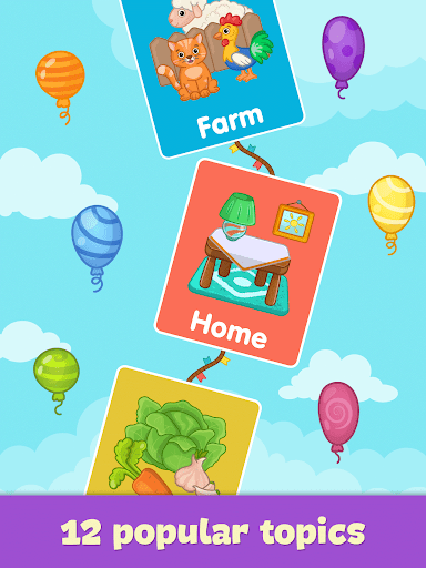 Baby flash cards for toddlers screenshot 14