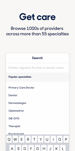 Zocdoc Find A Doctor & Book On Demand Appointments screenshot 8