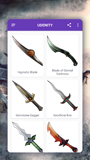 How to draw weapons. Daggers. Step by step lessons screenshot 5