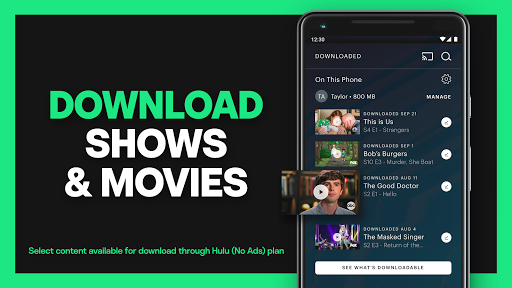 Hulu: Stream all your favorite TV shows and movies screenshot 3