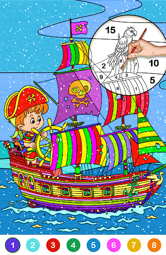 Color by number free screenshot 2