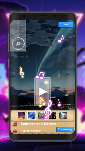 Piano Tiles Anime screenshot 4