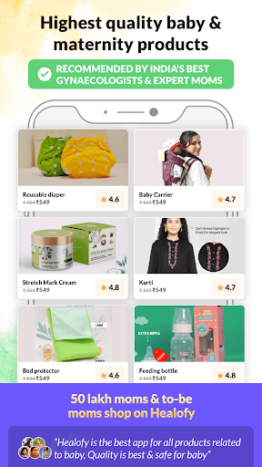 India's #1 Pregnancy,Parenting & Baby Products App screenshot 2