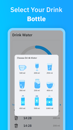 Aqualert : Water Drink Reminder screenshot 2