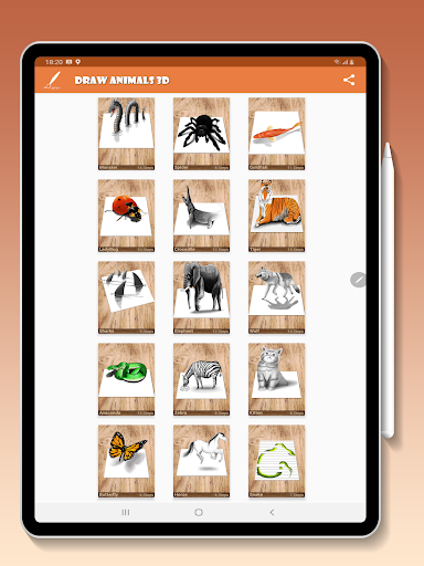 How to Draw Animals 3D screenshot 8