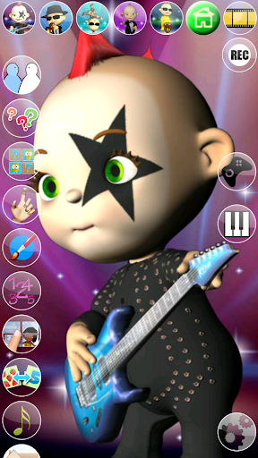 My Talking Baby Music Star screenshot 8