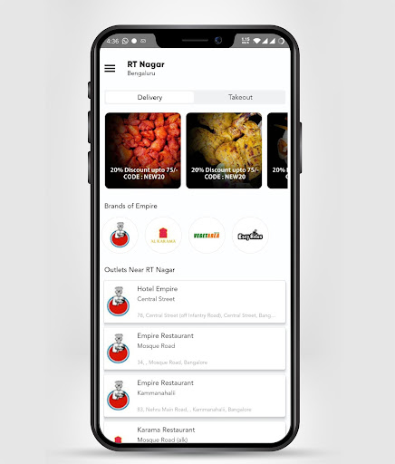 Hotel Empire -Food Order & Delivery screenshot 2