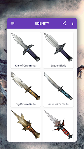 How to draw weapons. Daggers. Step by step lessons screenshot 4