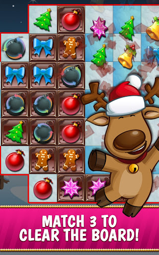 Christmas Crush Holiday Swapper Candy Match 3 Game screenshot 2