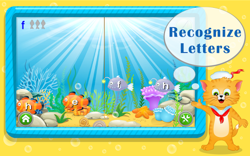 Learn ABC Letters with Captain Cat screenshot 1